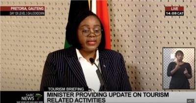 Tourism Minister Mmamoloko Kubayi-Ngubane